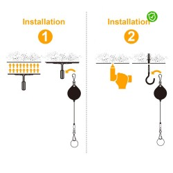 Cable Tie System VR Headset Free Circulation