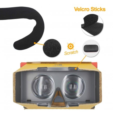 [2er-Set] Nintendo Switch Labo VR Kit  Ersatzschaum - PU-Leder