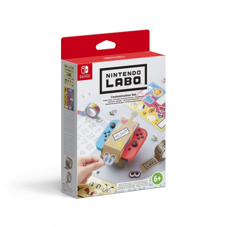Nintendo Labo : Customisation Set for Toy-Con Nintendo Switch
