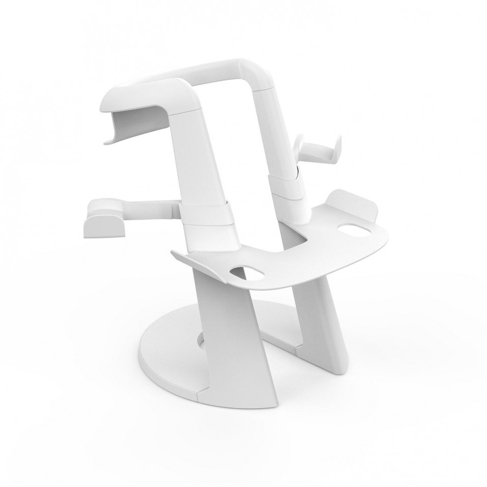 Stand Holder for Oculus Quest 2 & Valve Index Headset (White)