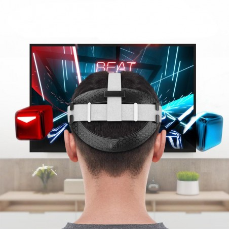 Improving the comfort of the original Quest 2 VR Headset strap (black)